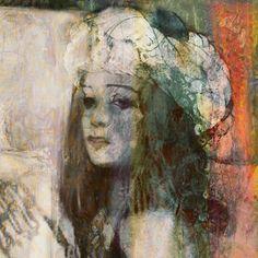 """Saatchi Online Artist: Suhair Sibai; Paint, 2011, Mixed Media """"Queen of the Desert"""""""
