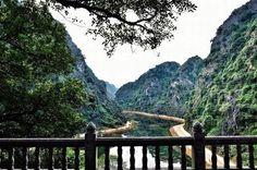 Cảnh sắc Tuyệt Tình Cốc - Nhìn từ chùa Am Tiêm