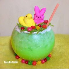 The Easter Basket Cocktail