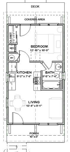 'katrina cottage mobile home/ floor plan' - Google Search
