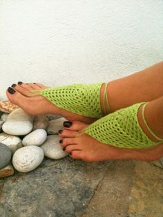 Barefoot sandals. . . a great way to be pretty without having to actually wear shoes