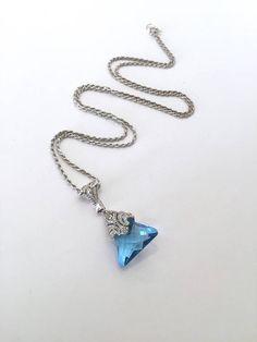 Sterling Silver Aquamarine Blue Tourmaline by WOWTHATSBEAUTIFUL