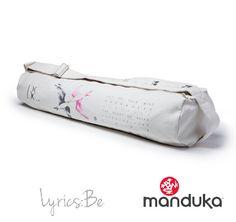 Manduka Practise Tote Lyrics Be White Vintage Yoga Mat Bag, Lyrics, Song  Lyrics, 259bf8ffcc