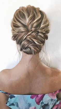 romantic updo hairstyles, updo hairstyle,simple updo, messy bridal updo hairstyl… - All For Hairstyles Messy Wedding Hair, Simple Wedding Hairstyles, Chic Hairstyles, Wedding Hair And Makeup, Simple Wedding Updo, Bridesmaid Updo Hairstyles, Glasses Hairstyles, Nurse Hairstyles, Formal Hairstyles
