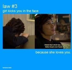 Kdrama Law #3 #kdramahumor