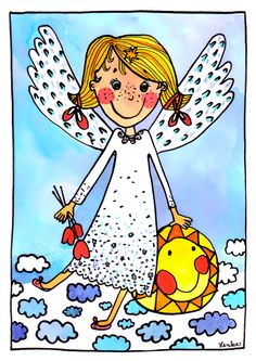 Christmas Angels, Tweety, Baby Room, Advent, Princess Peach, Fantasy, Children, School, Fictional Characters