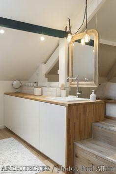 Combles IVRY : la suite parentale idéale, maéma architectes - Côté Maison Projets