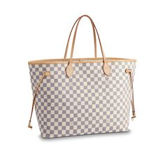 c6021697b95 LOUIS VUITTON Official Website United Kingdom - Discover Louis Vuitton s  Neverfull GM collection for women in Damier Azur canvas.