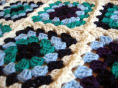 Super Quick Joining Method  Everybody loves granny squares. But seaming that big pile of squares together...