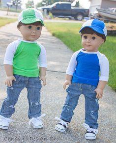 Hey, I found this really awesome Etsy listing at https://www.etsy.com/listing/239904054/18-inch-boy-doll-baseball-shirt-boy-doll