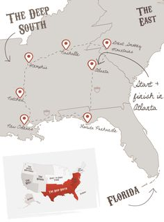 Ultimate Deep South | The American Road Trip Company