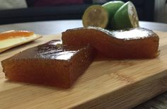 This feijoa paste is a delicious treat. You can either eat it as a sweet on its . - This feijoa paste is a delicious treat. You can either eat it as a sweet on its own or add it to yo - Fejoa Recipes, Fruit Recipes, Dessert Recipes, Cooking Recipes, Yummy Treats, Sweet Treats, Yummy Food, Fruit Paste Recipe, Hawaiian Sweet Rolls