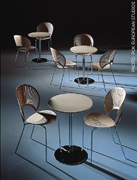 "Nanna Ditzel ""Trinidad"" and ""Tobago"" Cafe Furniture (love those Danes)"