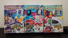 BANDAI Super Sentail Uchu Sentai Kyuranger Narikiri Kit Part.2 Candy Toy #Bandai Power Rangers Toys, Great Britain, New Zealand, Norway, Vietnam, Candy, Kit, Baseball Cards, Sweets