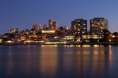 I thought the city of San Francisco's waterfront looked pretty neat at night. I used a high aperture value to get the dazzle of the lights, which I thought added a nice effect on the long exposure.