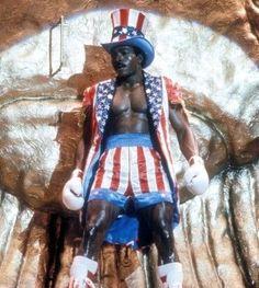 Apollo Creed, Rocky 4. Rocky Stallone, Rocky Sylvester Stallone, Rocky Series, Rocky Film, Rocky Balboa, 80s Movies, Drama Movies, Rocky Poster, Apollo Creed