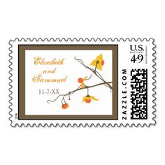 Fall Bittersweet Postage Stamp