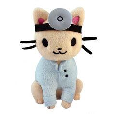 Peluche de Doctor Gato
