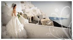 My Dream Wedding would be in Santorini, Greece...