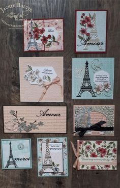 Parisian Blossoms suite cards from my OnStage presentation. Parisian Blossoms suite cards from my OnStage presentation. Paris Cards, Stampinup, Stamping Up Cards, Colorful Pictures, Botanical Prints, Homemade Cards, Scrapbook Paper, Making Ideas, Cardmaking
