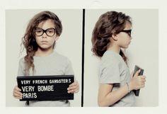 Se fossimo bambine sapremmo sicuramente quali occhiali comprare: Very French Gangsters, eyewear per i più piccolini con montature di tendenza!