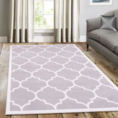 silver home accessories Teppich Eastlawn Trendy in Grau/Wei ClassicLiving Teppichgre: Rechteckig 120 x 170 cm Grey And White Rug, White Area Rug, Beige Area Rugs, Silver Home Accessories, Clearance Rugs, Machine Made Rugs, Yellow Rug, Traditional Furniture, Red Rugs