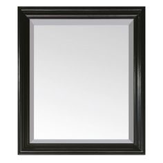 "Avanity MILANO-M30-BK Milano 30"" Vanity Mirror Black Home Decor Mirrors Plumbing"