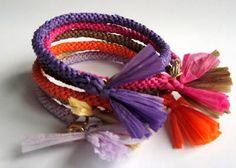 Bracelets en raphia | Sakarton
