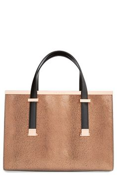 Ted Baker London 'Marrpel' Textured Metal Tote available at #Nordstrom