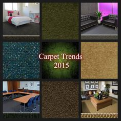 """New carpet trends include oversized loop piles, chunky felts and high dense twists - """"Carpet Trends 2015"""" """"carpeting trends"""" """"carpet care"""" """"carpet buying guide"""""""