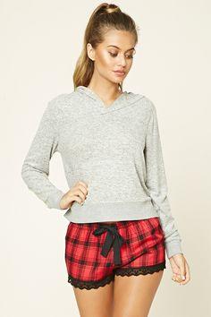Shorts De Pijama Cuadros