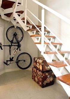 Onde colocar a bicicleta