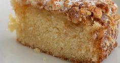 Gâteau espagnol aux amandes, noisettes et zestes