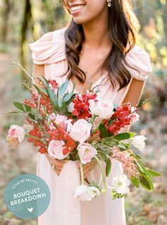 Photography : Alexandra Grace Photography | Floral Design : Ponderosa And Thyme Read More on SMP: http://www.stylemepretty.com/2015/10/12/bouquet-breakdown-blushing-marsala-bridal-inspiration/