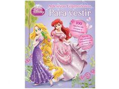 Disney Para Vestir Princesas - Adesivos Glamorosos - DCL com as melhores condições você encontra no Magazine Edmilson07. Confira!
