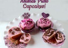 Cupcakes animal print