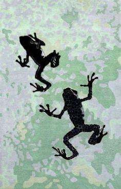 Rugs USA Prescott Frogs TU43 Mint Rug