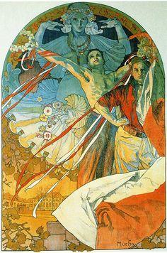 8th Sokol Festival, 1912, Alphonse Mucha Size: 123x82.7 cm Medium: lithography