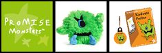Promise Monsters has a wonderful collection of cute and cuddly little monsters. Each Monster comes with its own Act of Kindness for you to complete and then upload to the website for a little prize! This time we are going to introduce you to Spike. The green little monster with one eye and a huge heart.