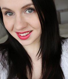 "Blogger Virve wearing summer shade 42 ""Raspberry Juice"" of Wild Rose Lipstick. #summer #lumene"
