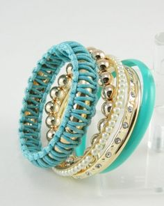 Another really cute bangle set  $23.70 CAD  www.fashionrehab.ca