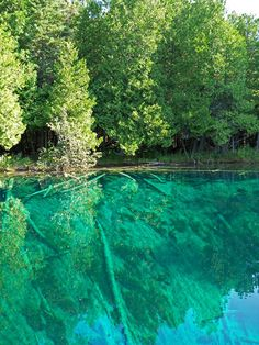one of the best places in the world. the big spring, upper peninsula, Michigan