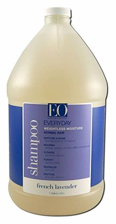 EO Pure Performance Botanical Shampoo, Everyday Leave-in or Rinse, French Lavender, 128 Ounce (1 gallon) Review