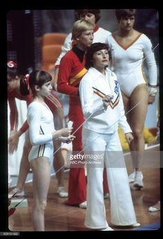 OLYMPICS - Women's Gymnastics - The 1976 Summer Olympic Games aired on the ABC Television Network from July 17 to August 1, 1976. Shoot Date: July 18, 1976. NADIA