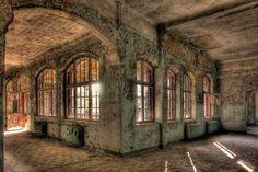 Soviet Military Hospital in Beelitz, Brandenburg by Axel Hansmann