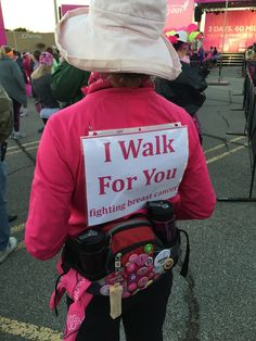 I walk for you. #The3Day
