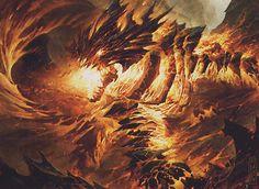 Obsidian Fireheart - MTG