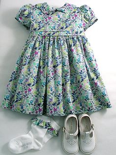 "Liberty Tana Lawn Dress in ""Rochester"" for A Little Girl"