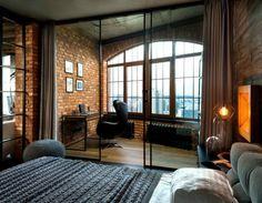 Resultado de imagen para industrial style loft