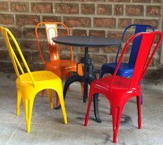 Metal bistro set www.desplinter.nl